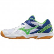 mizuno Herren-Volleyballschuh CYCLONE SPEED - White / Green Gecko / Su