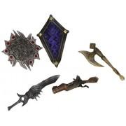Square - Enix - MFGSQX011 - Figurine - Final Fantasy XII - Play Arts Arms - Set de 5 Armes en Window Box