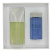 Issey Miyake L'eau D'issey 4.2 oz / 124.21 mL Eau De Toilette Spray + 2.5 oz / 73.93 mL Shower Gel + Toiletry Bag Gift Set Men's
