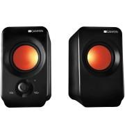 Boxe CNE-CSP202, 2.0, 6W, Negru