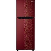 Samsung 253 L 2 Star Frost-free Refrigerator (RT28K3022RJ/HL , Royal Tendril Red)