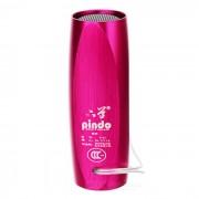 PINDO S1F bicicletas Mini Speaker w / TF? radio de FM - rosa oscuro