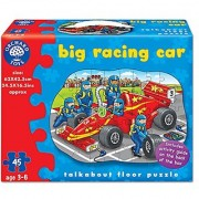 Big Racing Car Shaped Floor Puzzle