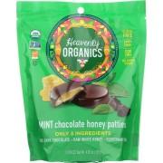 Heavenly Organics Organic Honey Patties - Mint Chocolate - Case of 6 - 4.66 oz.