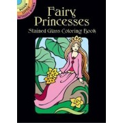 Fairy Princesses Stained Glass Coloring Book by Marty Noble