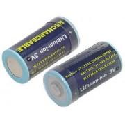 Akumulator CR123A 500mAh LiFePo4 3.0V
