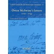 Lettere artistiche del Settecento veneziano. 4. Owen McSwiny's letters. 1720-1744.