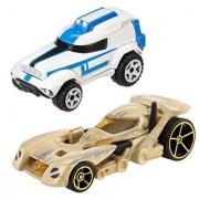 Hot Wheels Star Wars Character Car 2-Pack 501st Clone Trooper vs. Battle Droid