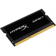 Memorie Laptop Kingston HyperX Impact Black SO-DIMM DDR3L, 1x4GB, 1866MHz, 1.35V, (CL11)