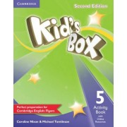 Kid's Box Level 5 Activity Book with Online Resources by Caroline Nixon