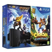 Sony PlayStation 4 Slim 500GB + Crash Bandicoot + Ratchet&Clank
