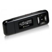 Transcend TS8GMP330W Lettore MP3, 8 GB, Clip Sport, Nero