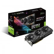 ASUS GEFORCE GTX 1070 STRIX ROG OC 8GB GDDR5 GRAFIKKARTE 2XDP/2XHDMI/DVI