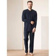 Walbusch Schlafanzug Gentleman Blau 56
