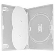 Box Triplo Padrão DVD Transparente 100 unid