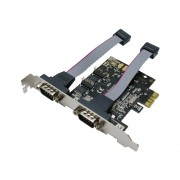 """LOGILINK Adapter: PCI-E 1x to 2 x SERIAL (DB-9); PC0031"""""""""""