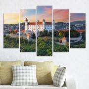 Декоративни панели за стена с цветен изглед от Братислава Vivid Home