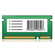 Lexmark MX6500e Forms and Bar Code Card