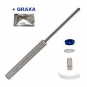 Kit Mola Gas Ram 45kg Gamo Ats + Bucha PU + Centralizadores + Graxa - Quick Shot
