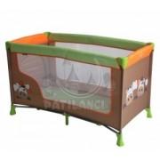 Bertoni - krevet torba nanny 1 layer cow orange green