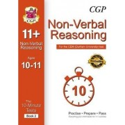 10-Minute Tests for 11+ Non-Verbal Reasoning Ages 10-11 (Book 2) - CEM Test by CGP Books