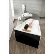Hoesch Badewanne Thasos Trapez 1500x1000 links, 3745.010