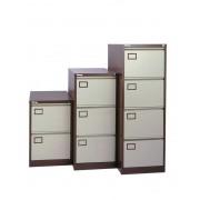 Filing Cabinet 4 Drawer Coffee/Cream