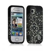 Housse Coque Étui En Gel Pour Samsung Wave 575 S5750 Avec Motif Lm11