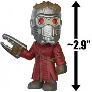 Star-Lord: ~2.9 Funko Mystery Minis x Guardians of the Galaxy Vinyl Mini-Bobble Head Figure Series