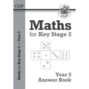 New KS2 Maths Answers for Year 5 Textbook by CGP Books