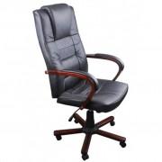 vidaXL Luxusné čierne kancelárske kreslo