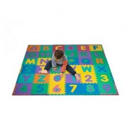 Foam Floor Alphabet and Number Puzzle Mat for Kids 96-Piece