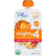 Plum Organics Essential Nutrition Blend - Mighty 4 - Pumpkin Pomegranate Quinoa Greek Yogurt - 4 oz