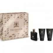 Trussardi Uomo 2011 Комплект (EDT 30ml +AS Balm 30ml + SG 30ml) за Мъже