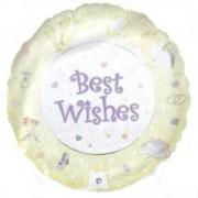 "Balon folie 45cm ""Best Wishes"", Amscan 09184"