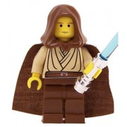 Obi-Wan Kenobi (young with hood and cape, YF) - LEGO Star Wars Figure