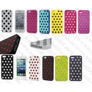 Apple iPhone 5/5s/5c (силиконов калъф) 'Dots style'