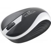 Mouse Esperanza Titanum Butterfly, Wireless (Alb)