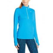 Nike Langarm Shirt Element Half Zip, LT Photo Blue/reflective silv, XL, 685910 - 435