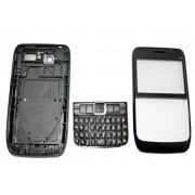 TOTTA Replacement Full Body Housing Back, Body Panel For Nokia E63- Black