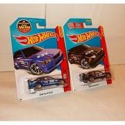 Mattel Hot Wheels BMW E36 M3 Race - Black & Blue - 146/250 - Comes with 2 cars