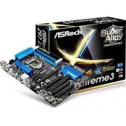 ASRock 90-MXGU90-A0UAYZ Z97 Extreme3 Scheda Madre, Nero/Blu