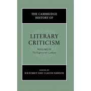 The Cambridge History of Literary Criticism: Volume 4, The Eighteenth Century by H. B. Nisbet
