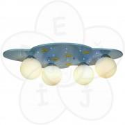 Plafonska lampa - mesec i zvezdice