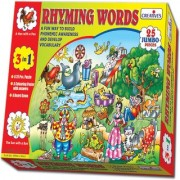 Rhyming Words 3 in 1 by Creatives is a fun and novel way to build Phonemic Awareness among children