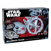 MTW Toys 13412 - RC Millennium Falcon volante, ferngesteuert, circa 21 cm