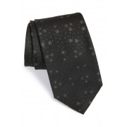HUGO BOSS Medallion Silk Tie BLACK