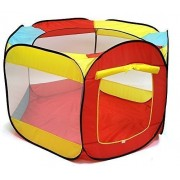 Kiddey Ball Pit Play Tent For Kids 6 Sided Playhouse For Children Fill With Plastic Balls Or Use As An Indoor Or Outdoor Tent (Balls Sold Separately) By Kiddey