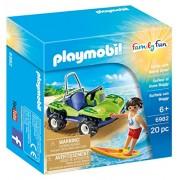 Playmobil 6982 Surfista con Quad