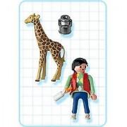 Playmobil 3253 Man & Giraffe Set